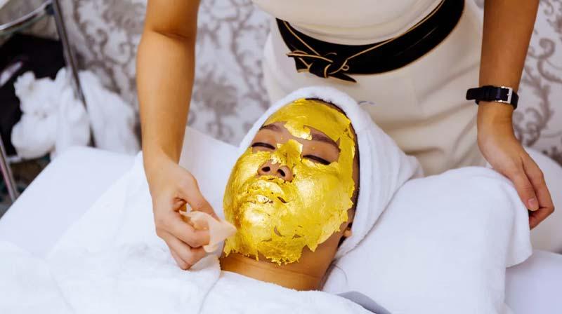 ماسک طلا-اکستنشن مو-یاسمن یزدی-یاسمن بیوتی